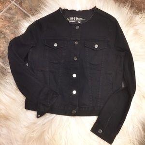 GAP Jackets & Coats - NWOT Gap 1969 Black Denim Jacket